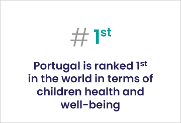 1-in the world in terms of children health and well-being