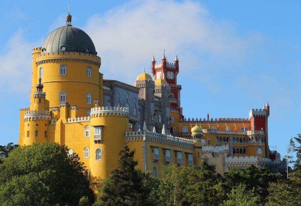 castelo do palacio nacional da pena em sintra