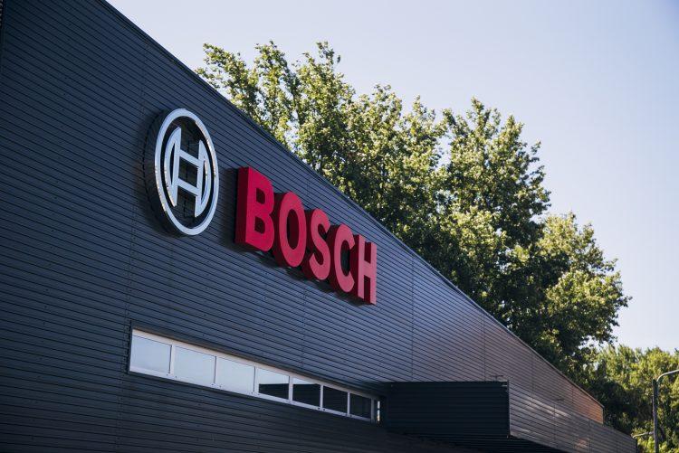 ilustração de armazém da Bosch