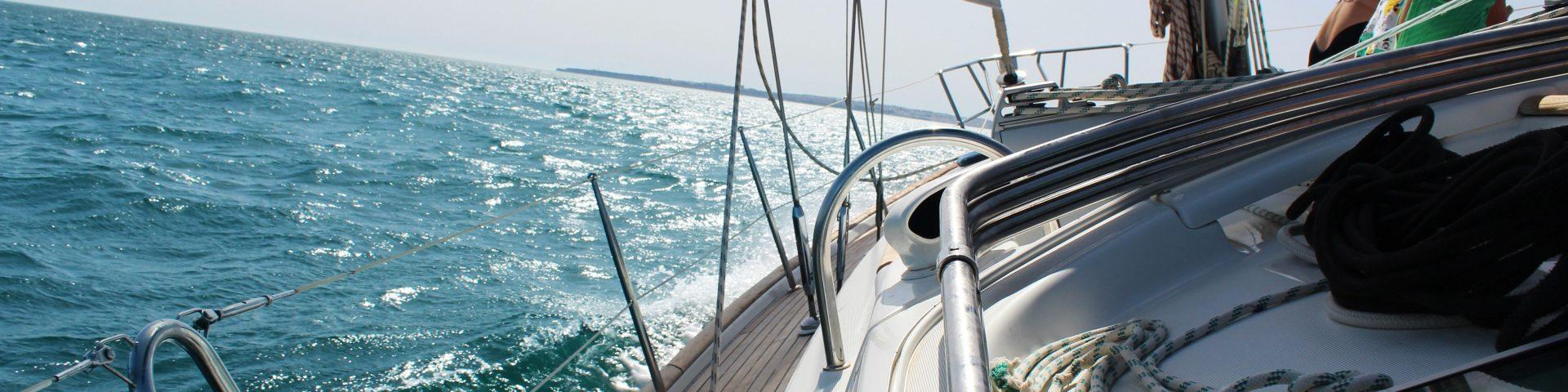 sea boat view