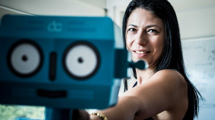 DefinedCrowd CEO Daniela Braga