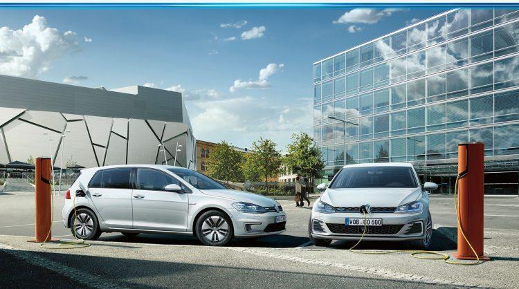 Volkswagen electric cars charging